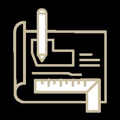 御依頼の流れ表 イラスト04 | CRAFT WORKS. | 株式会社CWT | クラフトワークス | 新築、店舗、住宅、マンションのリフォーム・リノベーション | 福岡県北九州市