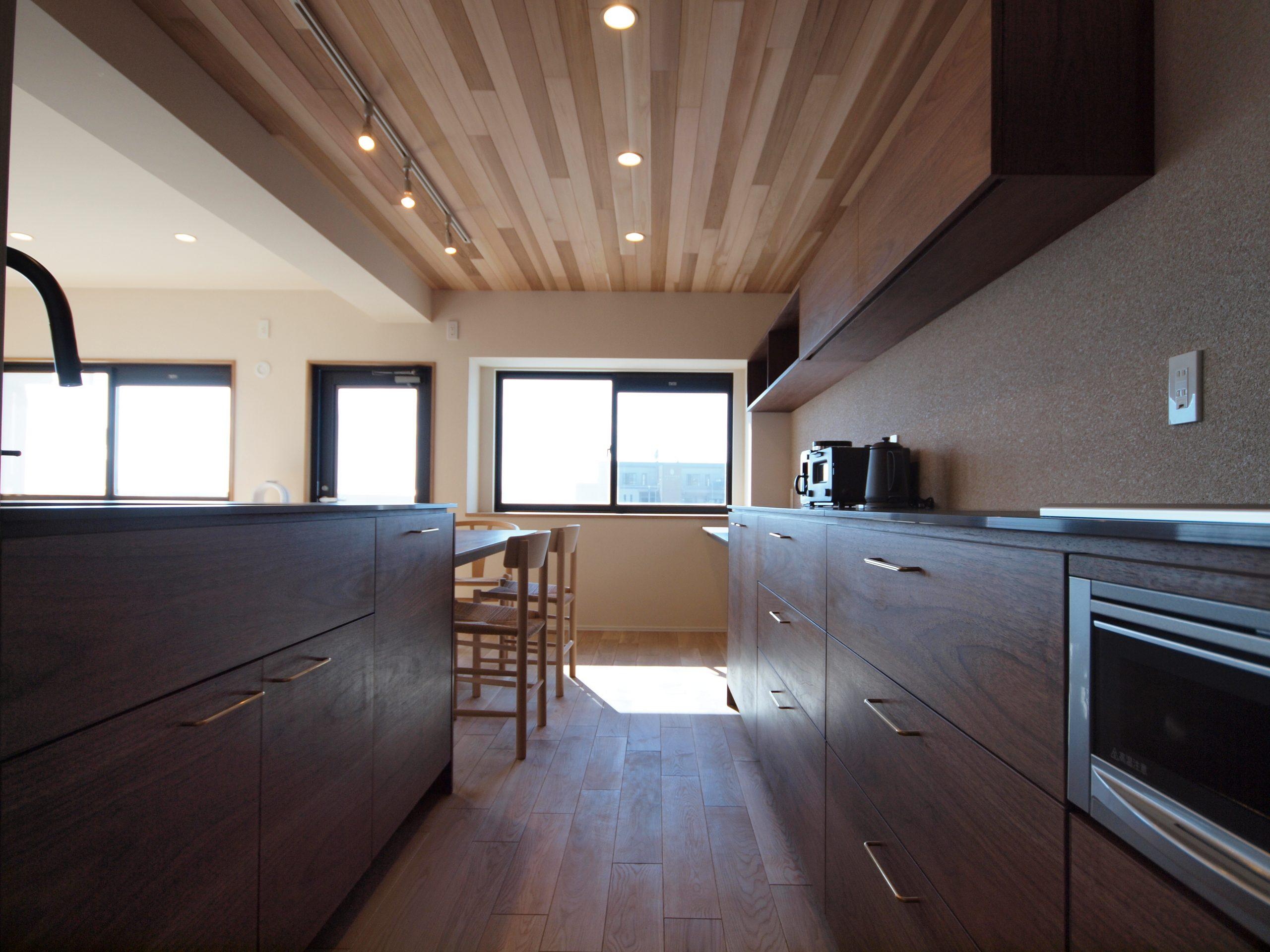 リノベーション施工案件: オーダーメイドキッチン・北欧家具・PB030296 | CRAFT WORKS. | 株式会社CWT | クラフトワークス | 新築、店舗、住宅、マンションのリフォームとリノベーション | Residential renovation | 福岡県北九州市