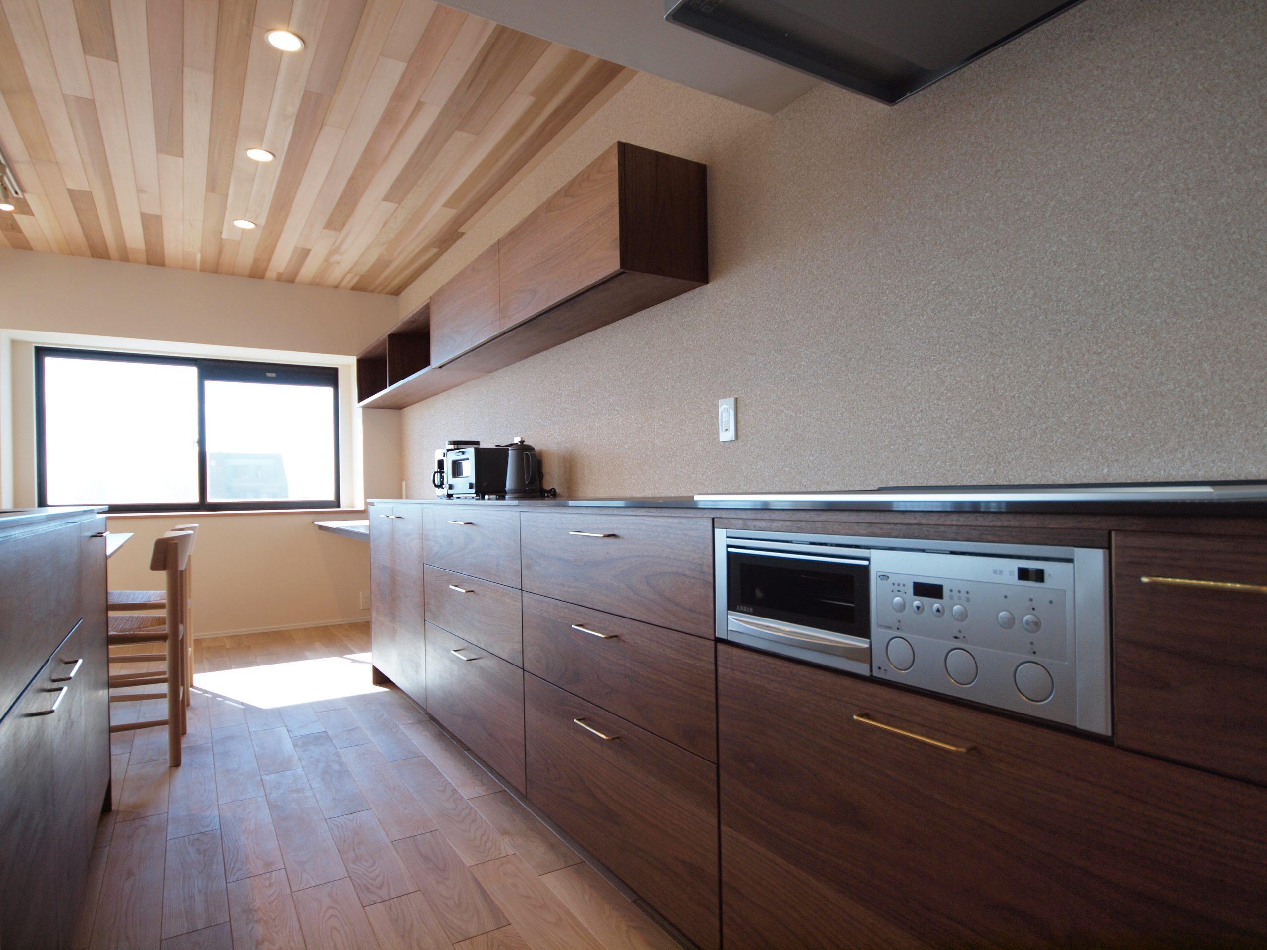 リノベーション施工案件: オーダーメイドキッチン・北欧家具・PB030297 | CRAFT WORKS. | 株式会社CWT | クラフトワークス | 新築、店舗、住宅、マンションのリフォームとリノベーション | Residential renovation | 福岡県北九州市