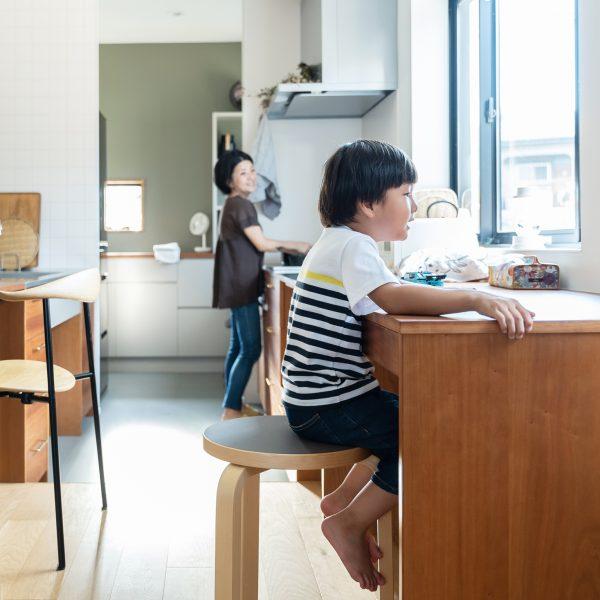 リノベーション施工案件: オーダーメイドキッチン・北欧家具・ house_m4-1 | CRAFT WORKS. | 株式会社CWT | クラフトワークス | 新築、店舗、住宅、マンションのリフォームとリノベーション | Residential renovation | 福岡県北九州市